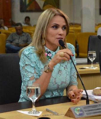 Vereadora Laudecy Coimbra