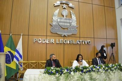 Mesa Diretora eleita para o biênio 2021-2022