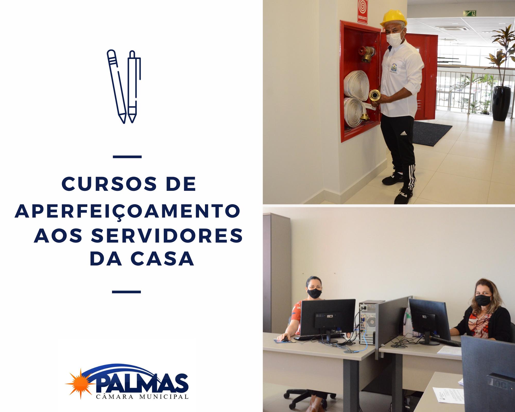 Câmara de Palmas oferta cursos de aperfeiçoamento aos servidores da Casa