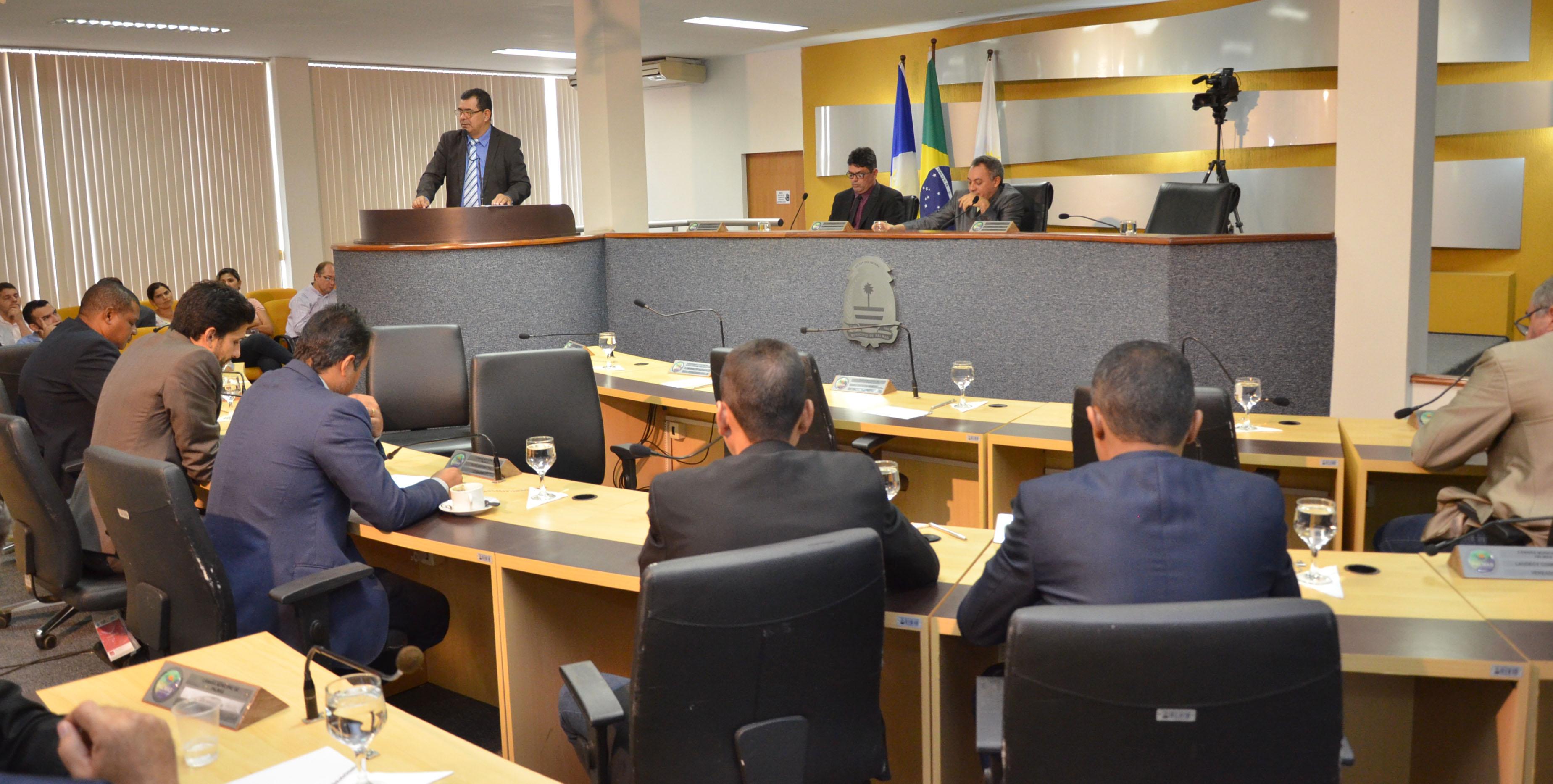 Câmara de Palmas realiza primeira sessão ordinária do ano