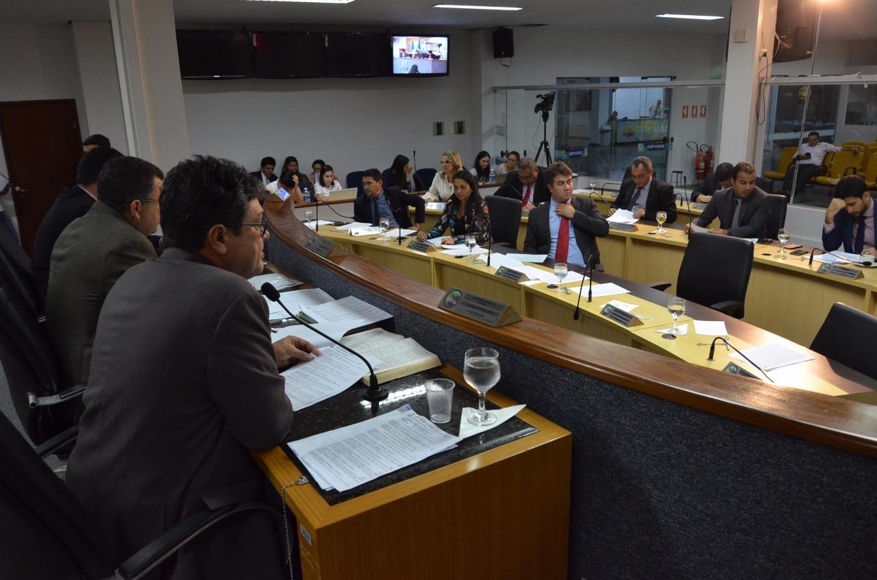Com previsão orçamentária de R$ 1,208 bilhão, LOA de 2019 é aprovada na Câmara de Palmas
