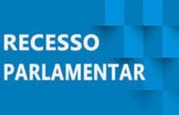 COMUNICADO RECESSO PARLAMENTAR