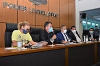 Em audiência pública na Câmara, Prefeitura de Palmas presta contas aos vereadores