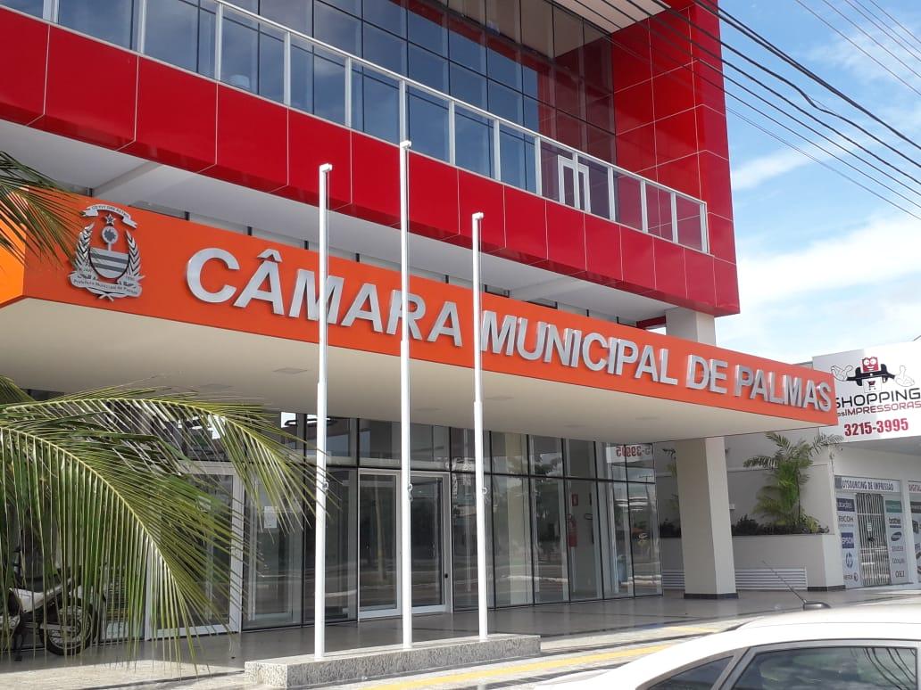 Em razão da Covid-19, Câmara de Palmas realizará sessões de forma restrita