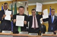 Em sessão extraordinária e solene, Câmara de Palmas empossa novos vereadores