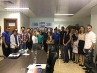 Folha e presidentes de associações de moradores apresentam demandas para a prefeita Cinthia Ribeiro