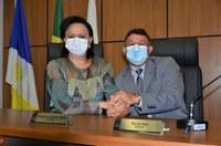 Iolanda Castro e Márcio Reis assumem cargo de presidente e vice-presidente em comissões permanentes da Câmara de Palmas