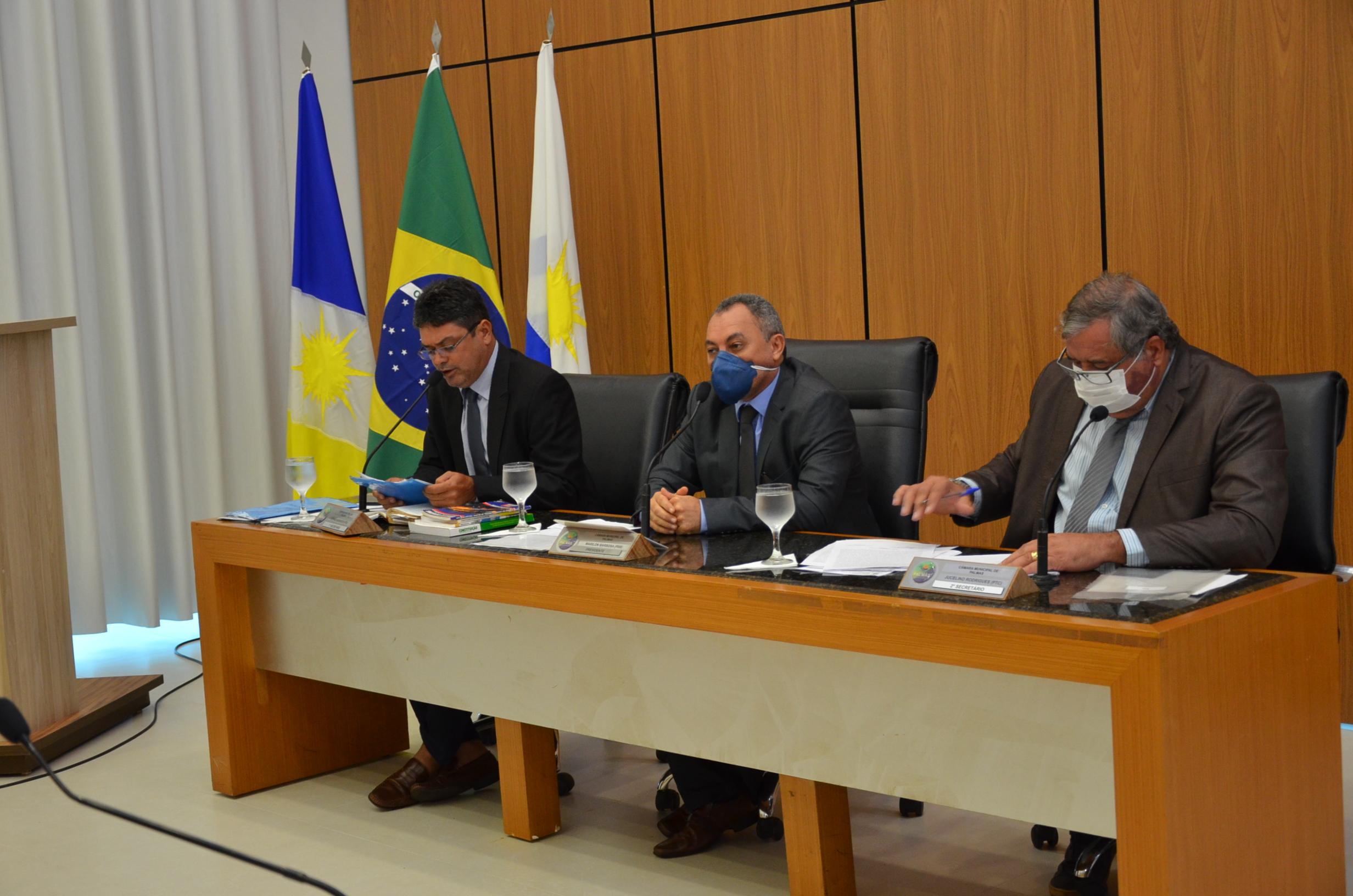 Marilon Barbosa inclui Medidas Provisórias na pauta e ambas são aprovadas