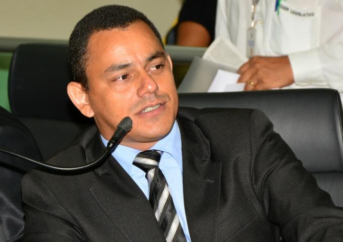 Marilon Barbosa recebe presidente da União dos Vereadores do Tocantins