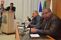 Na primeira sessão na nova sede, parlamentares exaltam esforço coletivo para a mudança