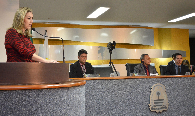 Prefeita Cinthia Ribeiro abre o ano Legislativo na Câmara de Palmas