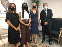 Presidente da Câmara de Palmas prestigia posse da nova defensora pública do Tocantins