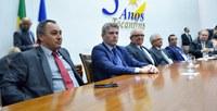 Presidente da Câmara de Palmas prestigia posse de deputados estaduais
