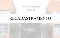 Recadastramento de servidores da Câmara de Palmas segue até dia 23