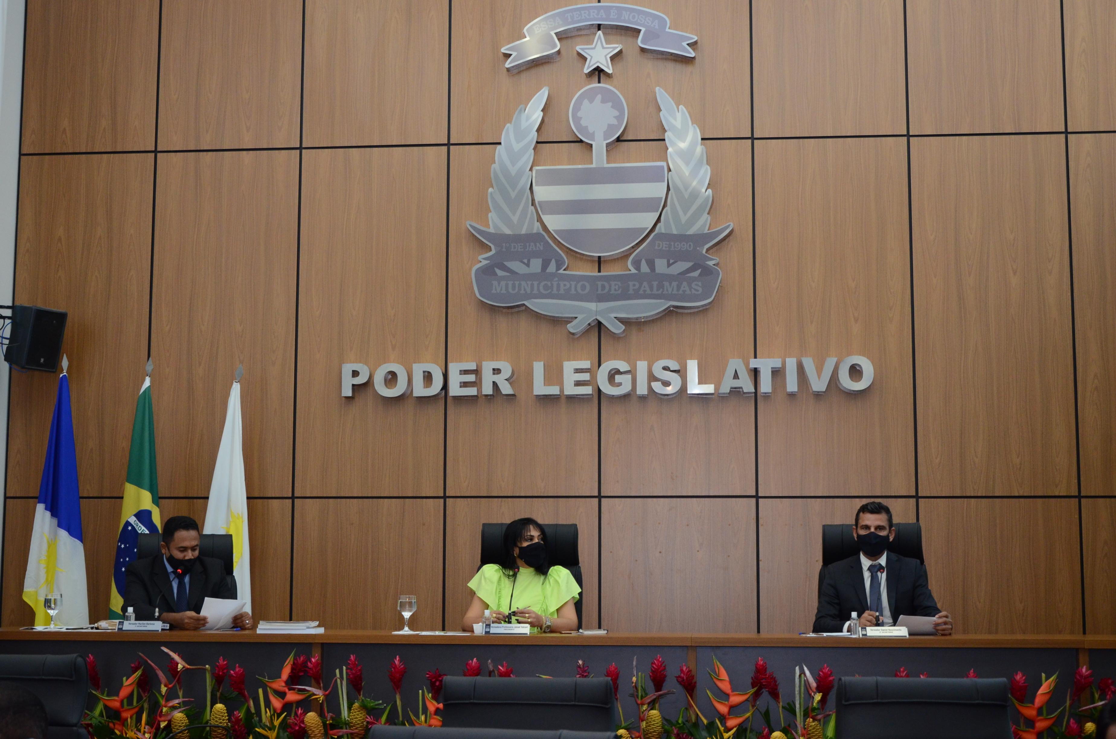 Sessão Ordinária da Câmara de Vereadores de Palmas registra 10 projetos de lei e 207 requerimentos apresentados
