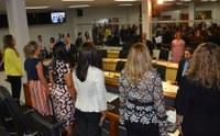 Sessão solene marca homenagem às mulheres na Câmara de Palmas