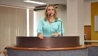 Única vereadora na Casa, Laudecy Coimbra explica porque não preside Comissão de Assuntos dos Direitos da Mulher