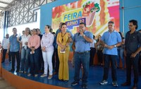 Vereadores da Câmara de Palmas prestigiam entrega das obras da Feira da 307 Norte