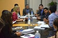 Vereadores se reúnem com representante do Executivo para discutir orçamento de 2019