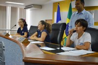 Vereadores recebem visita de alunos do Colégio Batista de Palmas