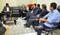 Vereadores se reúnem com Diretora do Fórum da Capital para discutir a CPI do PreviPalmas