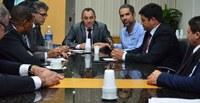 Vereadores se reúnem com superintendente estadual de Esportes, Juventude e Lazer